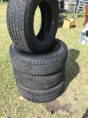 4 tires 265/70R17 for Sale in Port Richey, FL