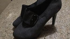 Grey work heels......size 10m for Sale in Virginia Beach, VA