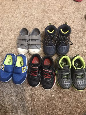 Baby boy toddler shoes size 7 for Sale in Cooper City, FL