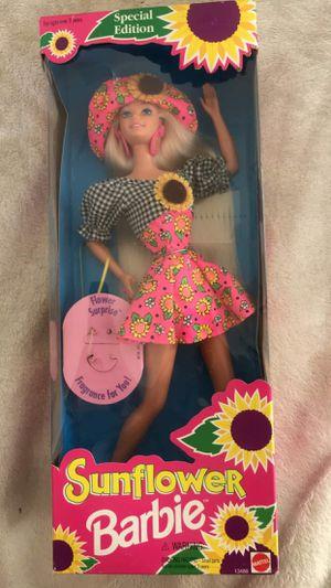 New sunflower barbie for Sale in Sacramento, CA