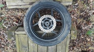 Kawasaki motorcycle rims and tires for Sale in Lawrenceville, GA