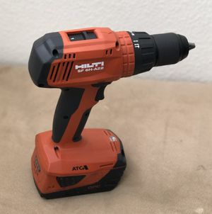 HILTI Hammer-drill and 5.2 battery for Sale in Victorville, CA