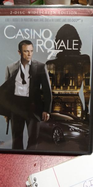 Casino Royale 007 dvd for Sale in Brainerd, MN