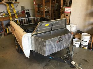 Custom short bed utility trailer for Sale in Torrance, CA