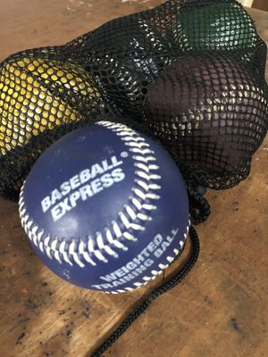 Weighted Training Baseballs for Sale in Gig Harbor, WA