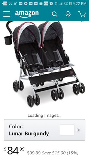 Almost new double jeep stroller for Sale in Henderson, NV