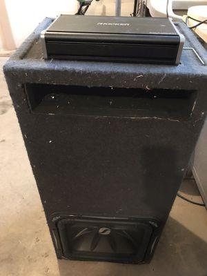 "15"" L7 kicker and 1200.1 kicker amp for Sale in Puyallup, WA"