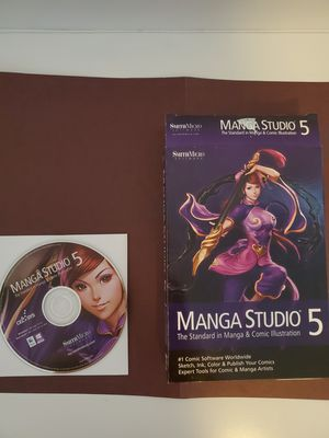 Manga studio 5 software only with box for Sale in Trenton, NJ