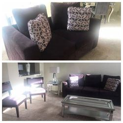 Furniture living room Couch loveseat and two arm chairs for Sale in Brandon,  FL