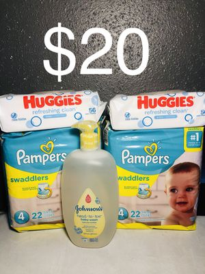 Pampers size 4 for Sale in Pasadena, TX
