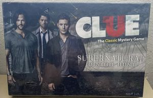 Supernatural CLUE Board Game- Join the Hunt USAopoly 2014 RARE- BRAND NEW SEALED for Sale in Phoenix, AZ