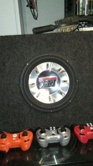 Kenwood CD player with aux and USB MTX 8000 10-inch subwoofer inbox for Sale in Detroit, MI