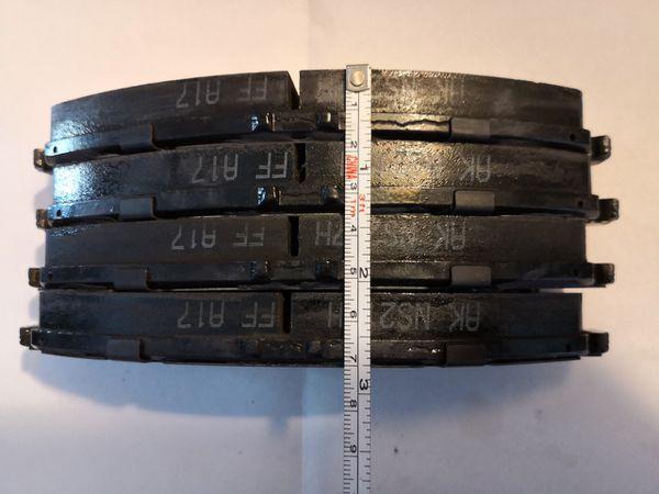 Front Brake Pads Set (Pilot Ridgeline MDX). HONDA OEM Factory Original