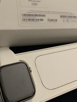 Apple Watch 44mm Stainless Steele Series 4 LTE for Sale in Washington,  DC