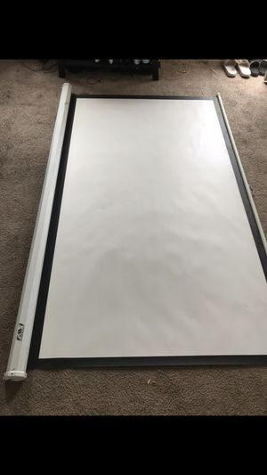 Favi projecter screen for Sale in Newark, OH