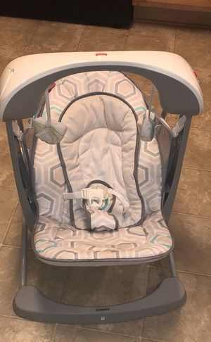Fisher- Price Deluxe Take Along Swing and Seat for Sale in Mableton, GA