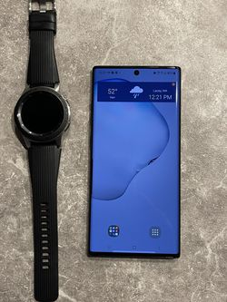 Samsung Galaxy Note 10+5G and Samsung Galaxy Watch for Sale in Lacey,  WA