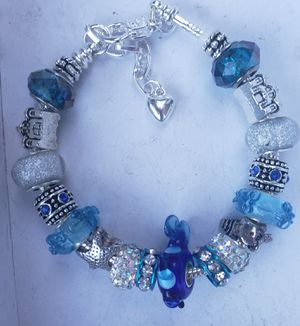 Seashore blue charm bracelet 1@ $15 or 2@ $25 for Sale in Baltimore, MD