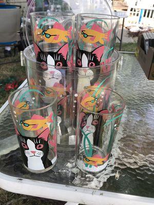 Pelzman collectable glasses and ice bucket for Sale in Orangevale, CA