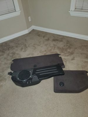2005 dodge ram 1500 parts. Under seat storage lids. OEM subwoofer. I also have original stereo and amp(not pictured). Everthing for $75 for Sale in Henderson, CO