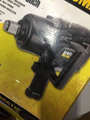 Pistol grip Air Inpanct Wrench 1500 FT. LB. TORQUE for Sale in Dallas, TX