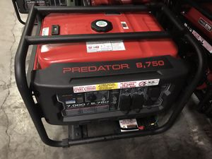4000 watts to 8750 watts generators for Sale in Las Vegas, NV