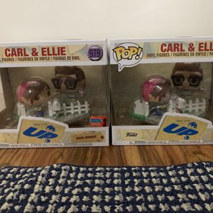 NYCC 2020 Funko Pop Disney Pixar's UP Carl And Ellie BOX LUNCH In Hand for Sale in Reston, VA