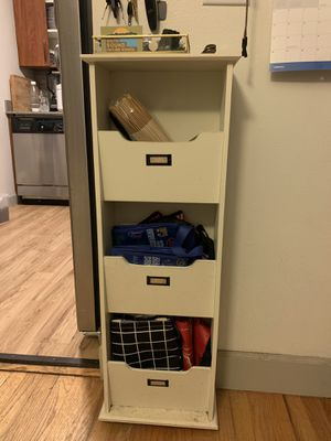 Shelf Side Organizer Entry Way Table for Sale in Mercer Island, WA