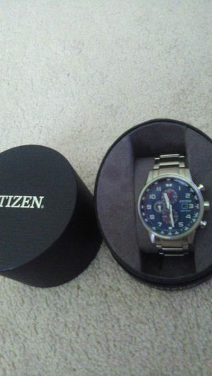 New $395 Citizen Stainless Eco-Drive Watch for Sale in Raleigh, NC