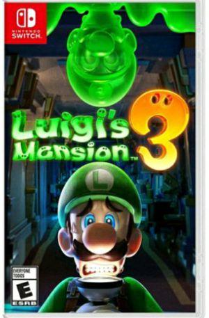 Luigi's mansion 3 for Sale in North Miami Beach, FL