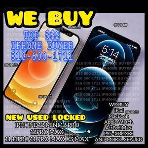 "iPhone 11 12 Pro 12 Pro Max Locked New 11 Pro Max 12 Mini Xs Max iCloud Unlocked iPad 12.9""WiFi+cellular Apple Watch 6 GPS MacBook Air New for Sale in Los Angeles, CA"