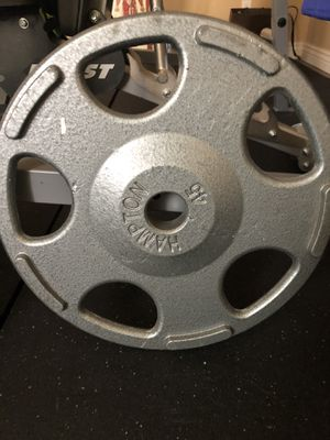 Two 45 lb plates for Sale in Chandler, AZ