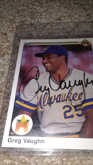 Baseball card for Sale in Menasha, WI