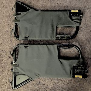 Wrangler Tj Tube Doors And Saddle Bag for Sale in Chico, CA