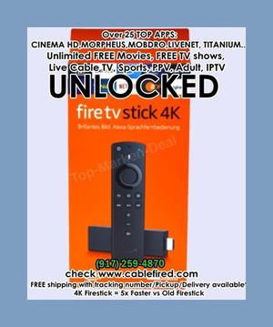 Hn h h tNew Amazon fire TV stick 4k unlocked for Sale in New York, NY