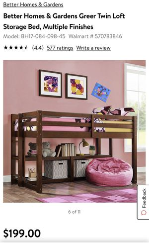 Kids twin loft bed for Sale in Bend, OR