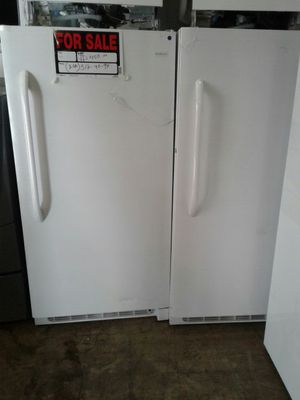 Frigidaire brand new freezers excellent condition for Sale in Baltimore, MD