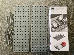 Kitchen organizer (4 piece set includes all pegs) for Sale in Cypress, TX