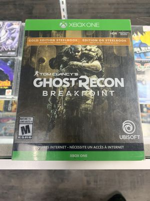 Tom Clancy's Ghost Recon breakpoint $40 Gamehogs 11am-7pm for Sale in East Los Angeles, CA