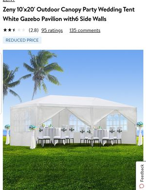10×20 tent, 10×20 Carpa for Sale in Anaheim, CA