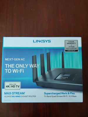 Linksys 5.3 Gbps router for Sale in San Diego, CA