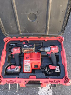 Milwaukee fuel Hammer Drill and Impact driver combo for Sale in San Diego, CA