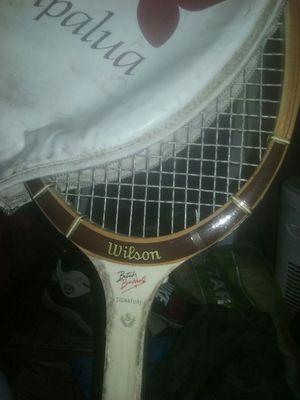 1960 vintage tennis racket signature Butch Butcholz for Sale in Fresno, CA