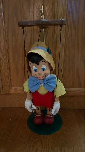 Christmas Disney Pinocchio Telco Marionette for Sale in Graham, WA