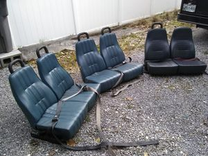 Bus seats. For shuttle bus, for Sale in Kingsport, TN