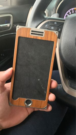 iPhone 8+ wooden case for Sale in Tampa, FL
