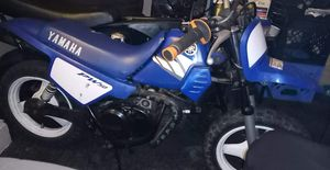 Yamaha pw 50nothing wrong house kept jus needs a carb clean takin offers n trades for Sale in Baltimore, MD