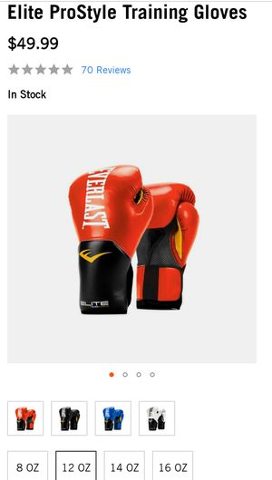 Boxing gloves 12oz for Sale in Garland, TX