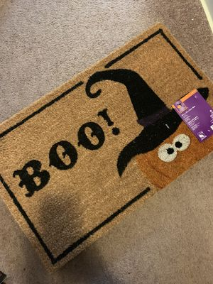 Halloween door mat. - Heavy duty for Sale in Brook Park, OH