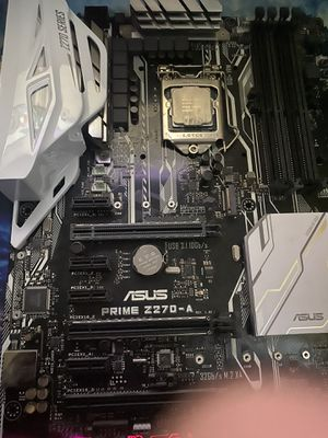 Asus z270 prime a with i5 7400 for Sale in Concord, CA